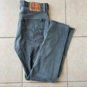 Men's Levi Strauss Grey Jeans